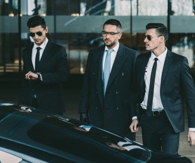 Team of bodyguards